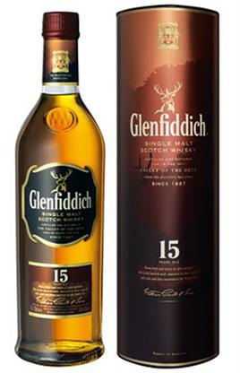 Glenfiddich Scotch Solera Reserve 15 Year